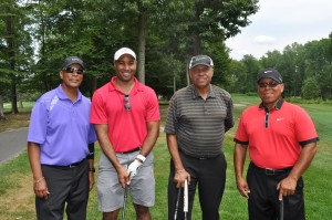 Trustee, Cheo Hurley, with Foursome