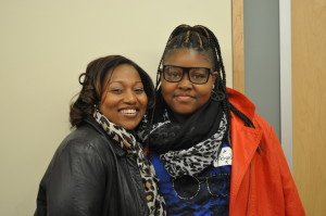 My Sister's Circle Mentor, Jessica Jackson, with her Mentee from Mount Royal Elementary/Middle School
