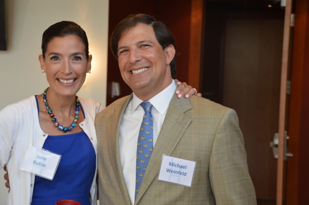 Julie Rubin and Michael Weinfeld