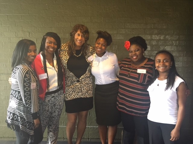 B.E.S.T. Upper School Girls with Honorable Pamela Brown, District Court Judge Howard County