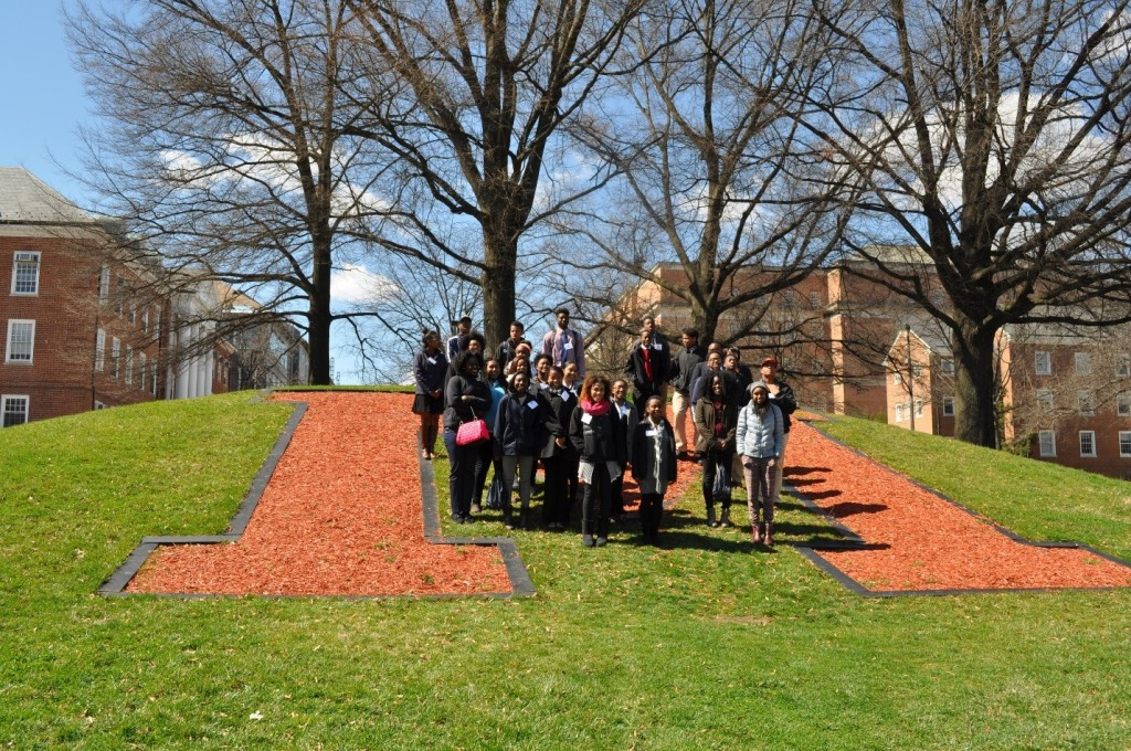 B.E.S.T. upper school students at University of Maryland, College Park