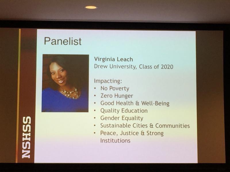 Virginia Leach's Panelist Introduction
